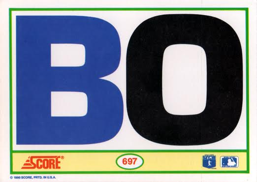 Bo The History Of The Perfect Junk Wax Card Sabrs Baseball