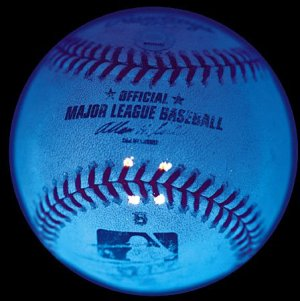 MLB adds UV markers to important baseballs, including this Barry Bonds home run ball