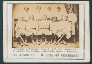 1869 Peck & Snider Cincinnati Reds card
