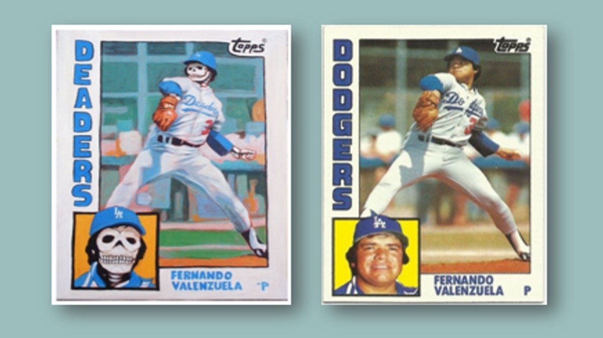 Dead Imitates Art: The Cultural Imagery of Fernando Valenzuela and his 1984 ToppsCard
