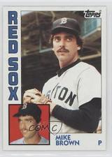 M. G Brown Red Sox 84