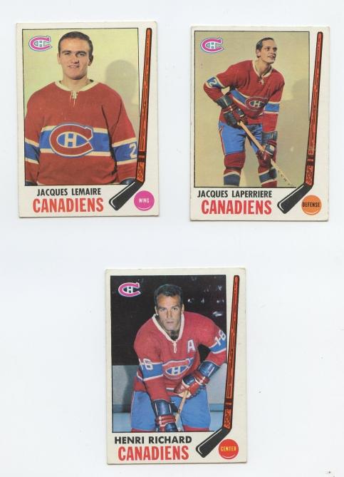 1969 Topps Hockey front #1022