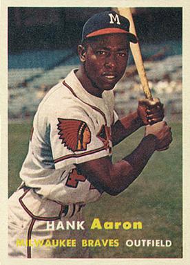 1957 Hank Aaron