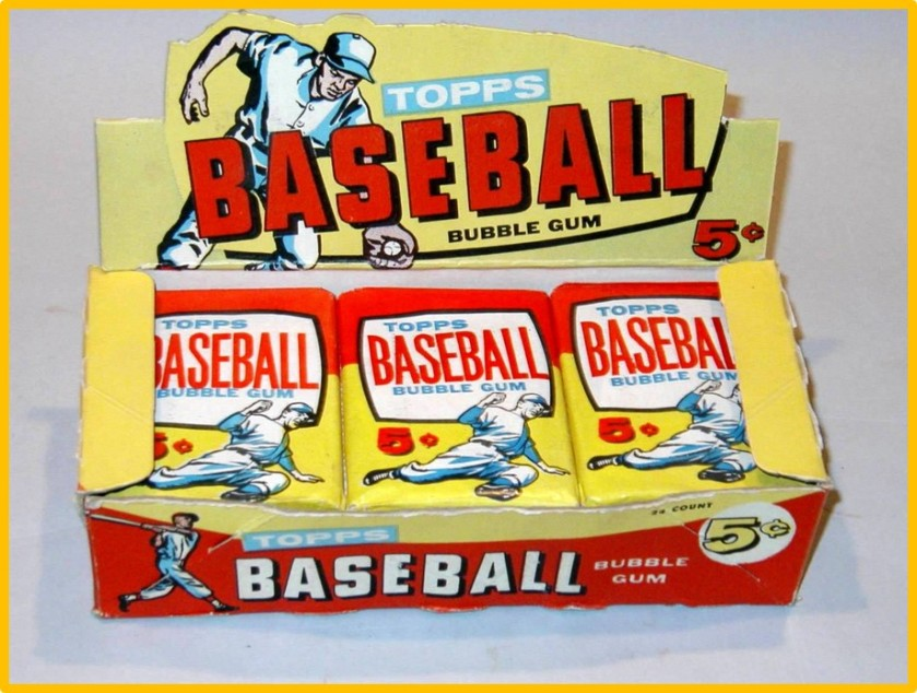 1957 Topps Baseball Card Sale Box