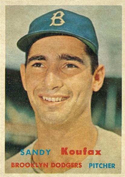 1957 Topps Koufax