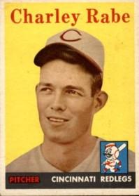 Charley Rabe - 1958