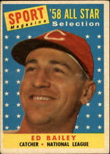Ed Bailey - 1958 All Star Card