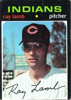Ray Lamb 71 Topps