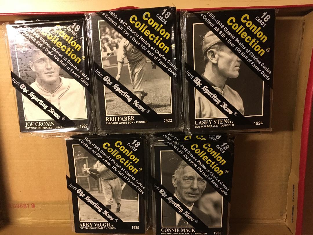 1991 Conlon packs