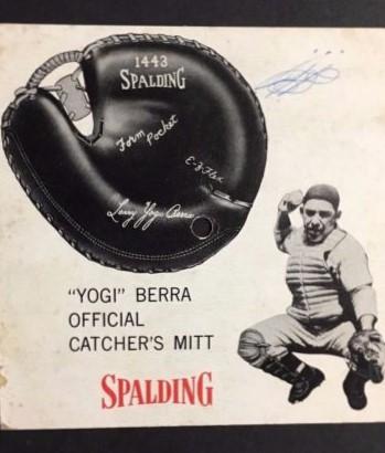 Spalding Yogi back