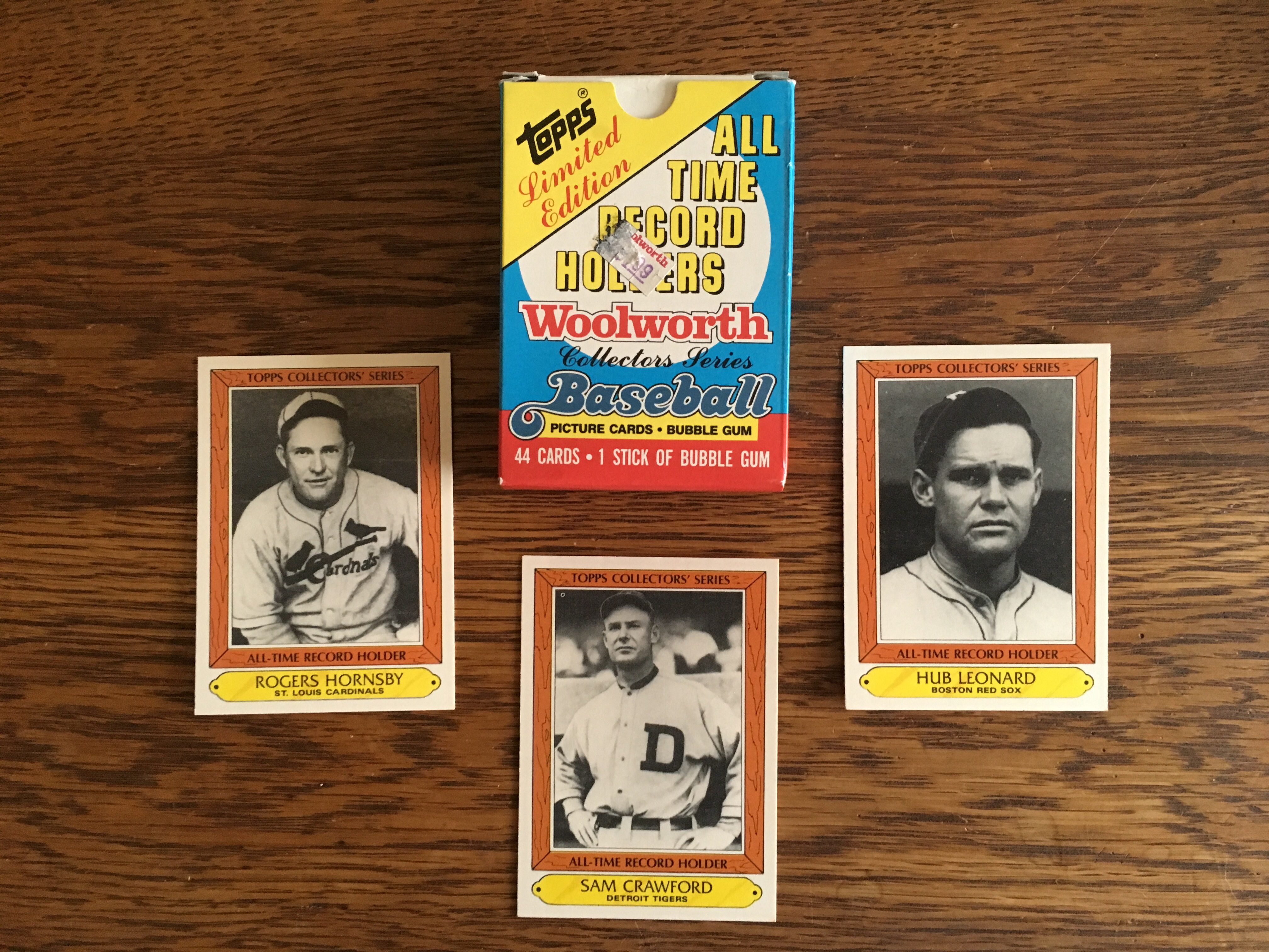 Woolworth cards