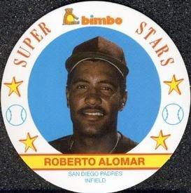 1989 Bimbo Cookies Super Stars Discs – SABR's Baseball Cards