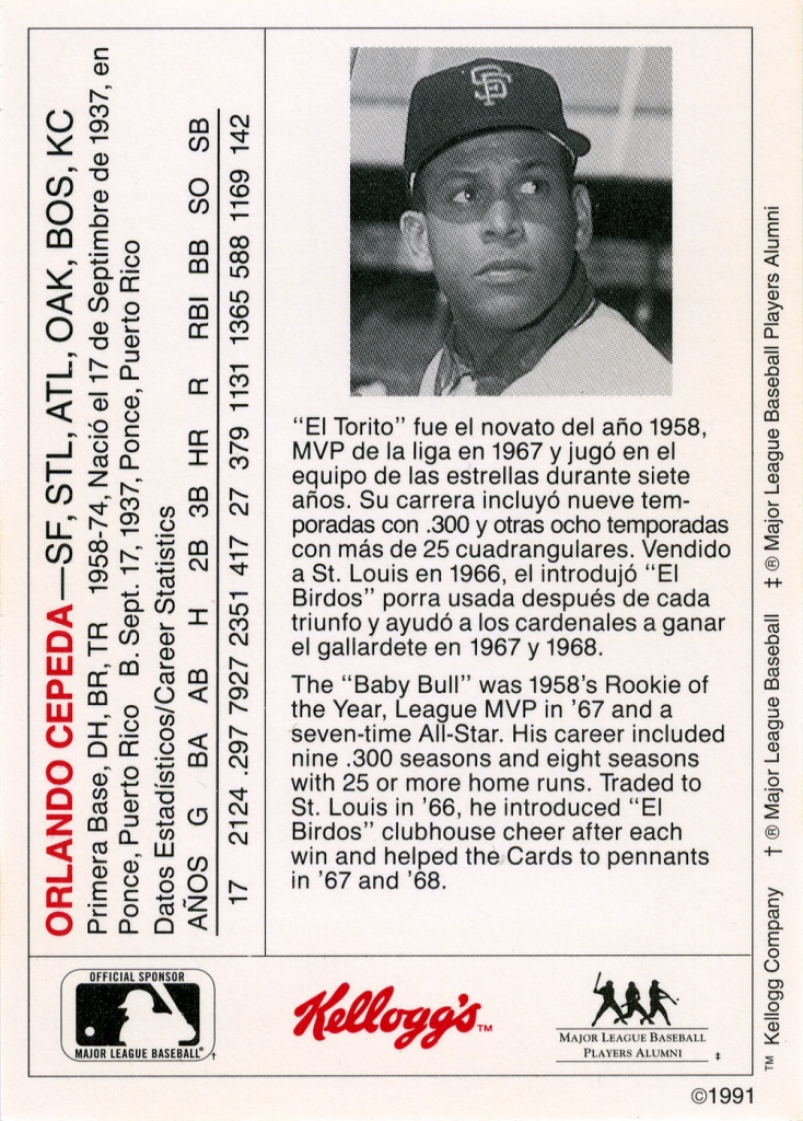 Kelloggs Sabrs Baseball Cards Research Committee