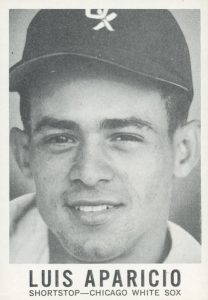 1960 Leaf Luis Aparicio Big Head 208300 Sabrs Baseball