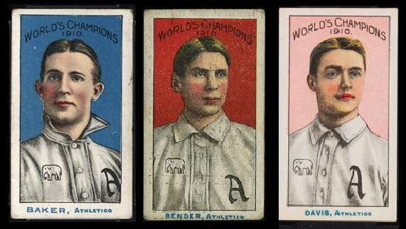 Prehistory of the Topps World Series cards