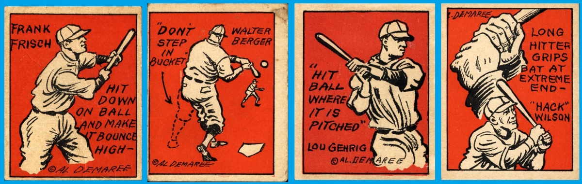 Learning to hit from a baseball card