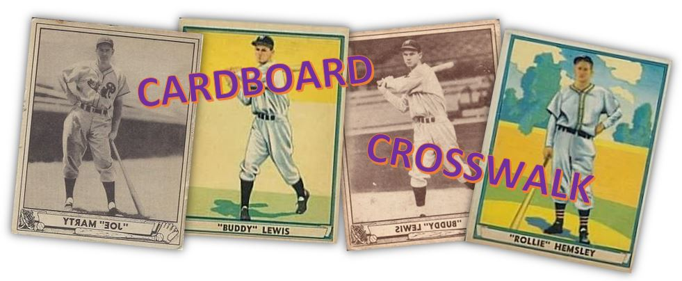 Cardboard Crosswalk: 1940-41 Play Ball