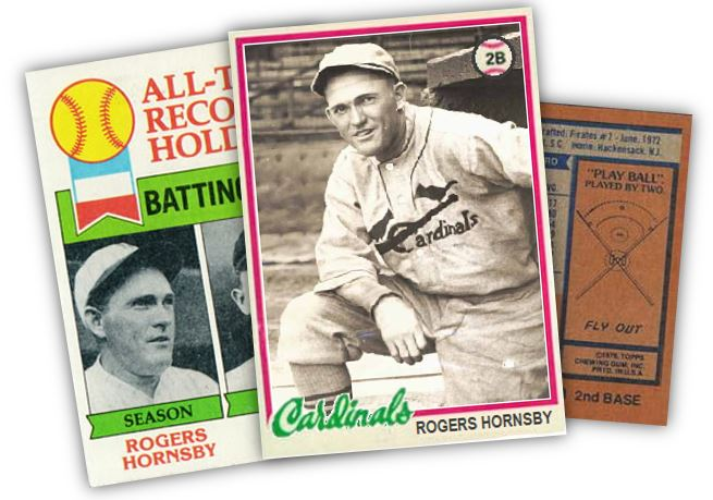 The Rogers Hornsby hiding in your 1978 Topps set