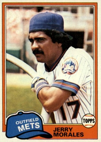 81 Topps Mets Morales 377