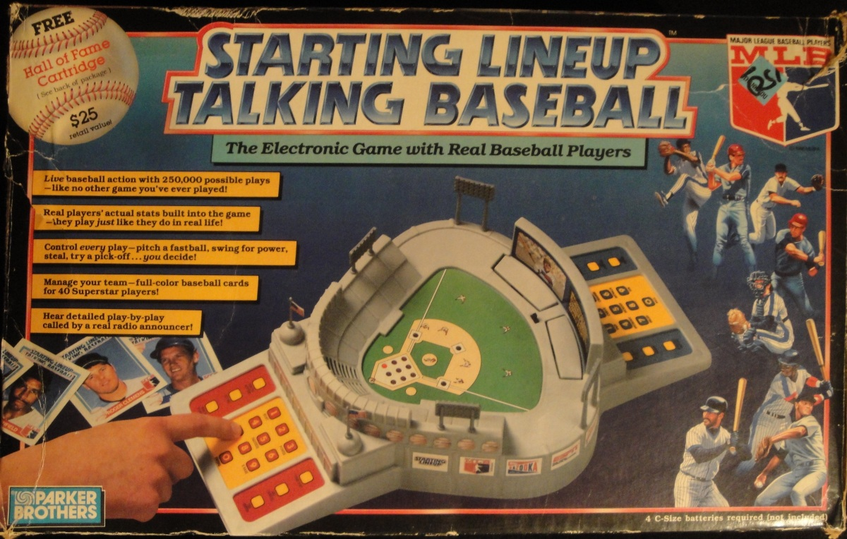 The Oddest of the Oddball:  1988 Starting Lineup Talking Baseball