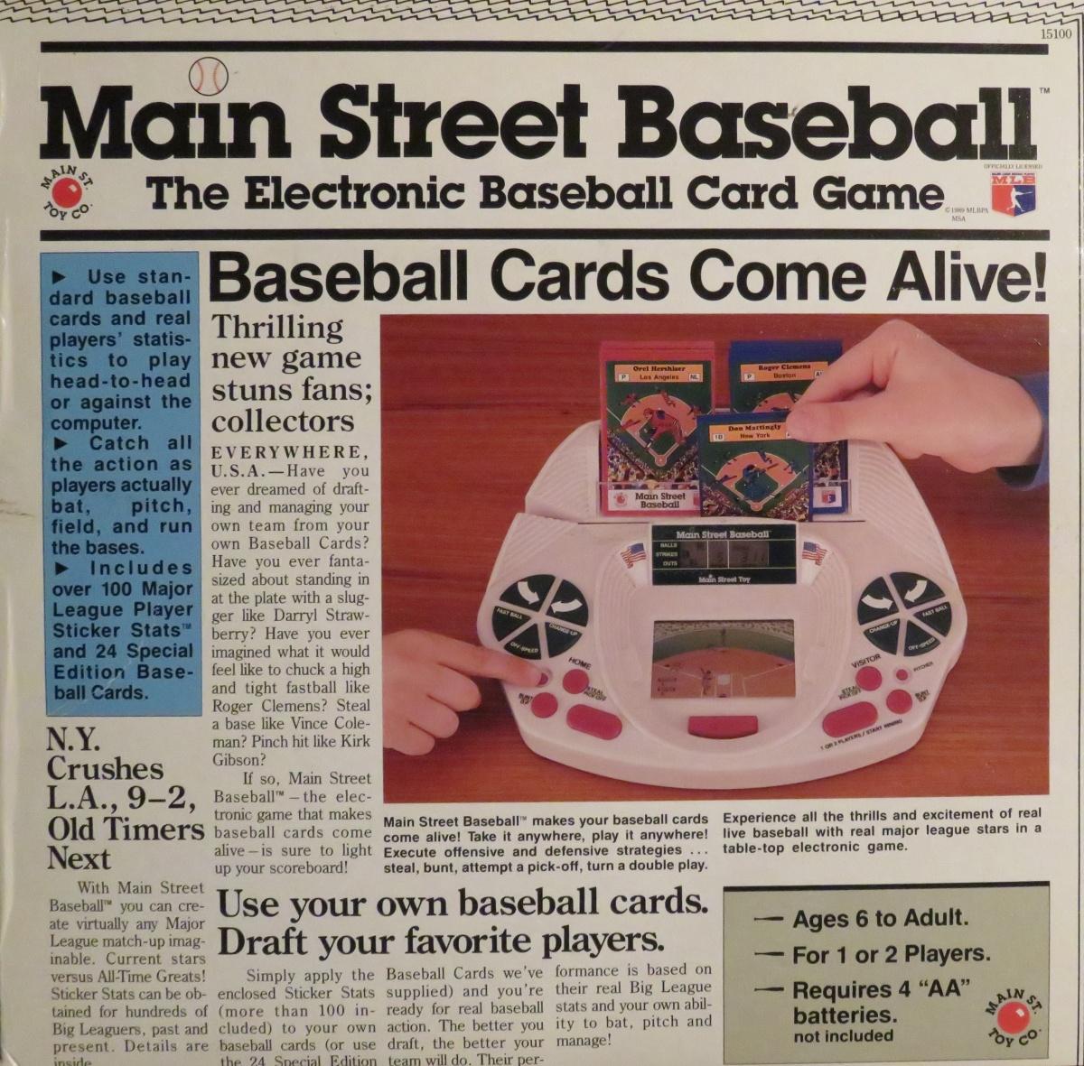 Worst Baseball Card SetEver