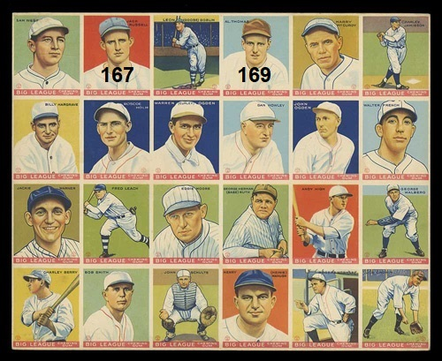 The Babe Ruth Trade Of 1933 Sabrs Baseball Cards Research Committee