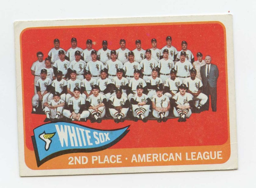 1965 White Sox team front088