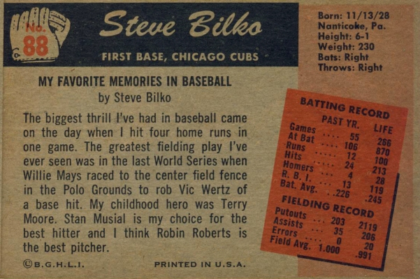 Childhood – SABR's Baseball Cards Research Committee