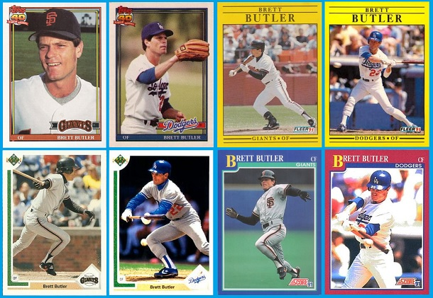 Dodger Giant Double Agents Sabrs Baseball Cards Research