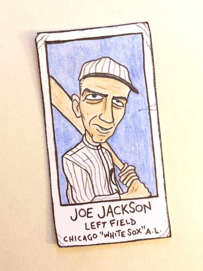SABR Black Sox Symposium trading cards