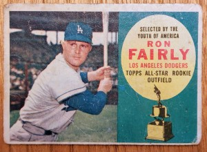 1960 Topps #321 Ron Fairly