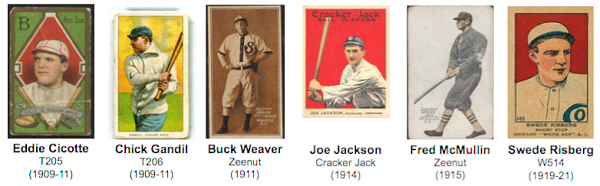 """Beckett Vintage"" highlights Black Sox baseball cards"