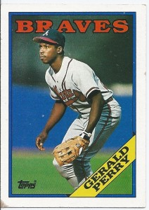 1988 Topps Gerald Perry