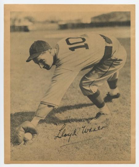 1934 Butterfinger Waner front253