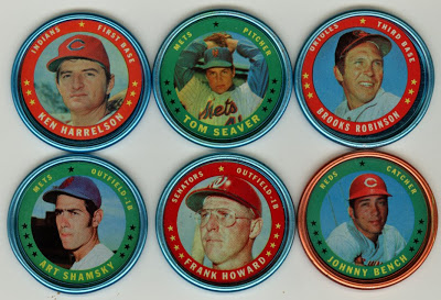 1971 Topps Coins 5