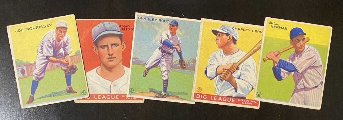 Overanalyzing 1933 Goudey, part five