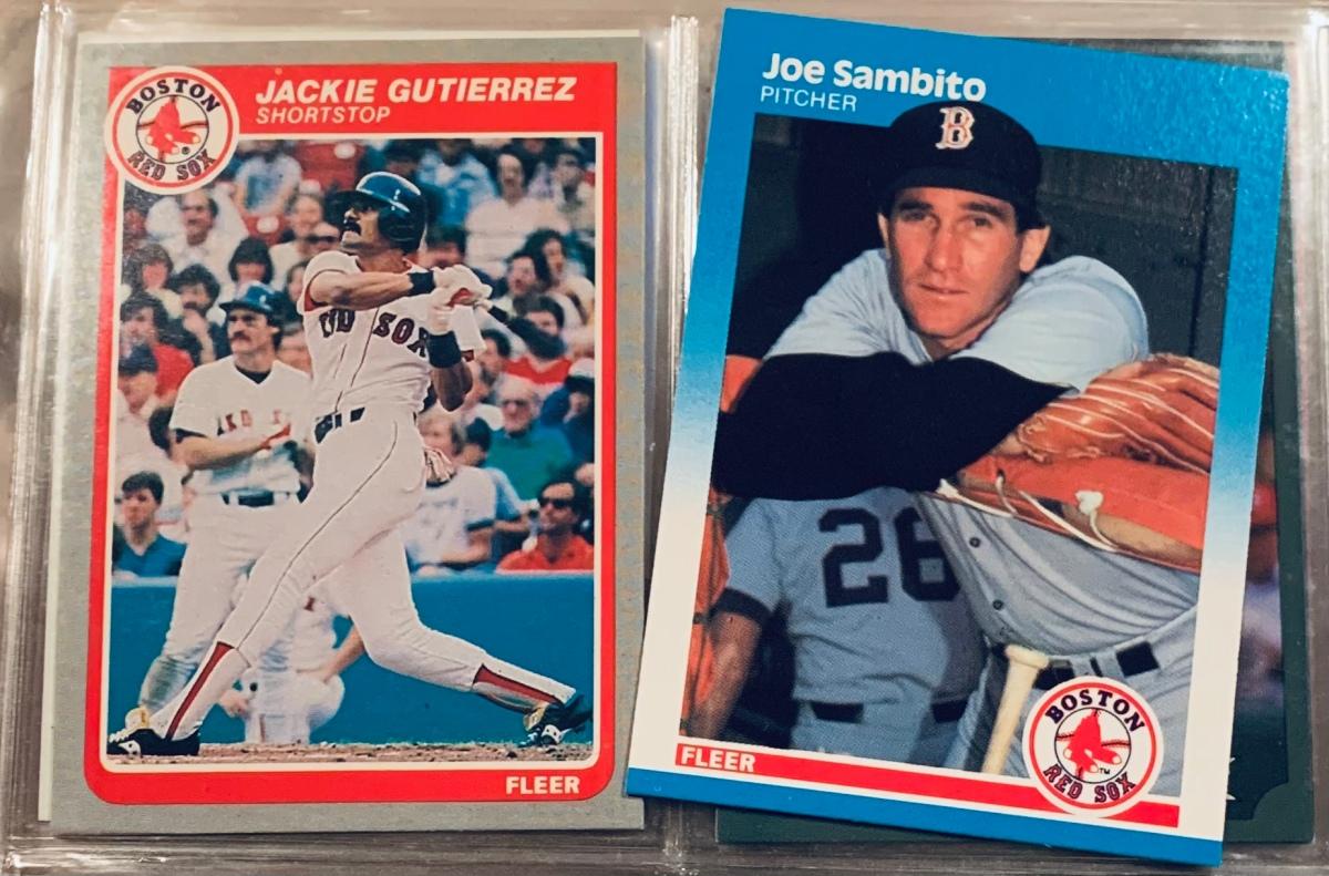 1987 Fleer Joe Sambito: A Modern Mystery(Solved)
