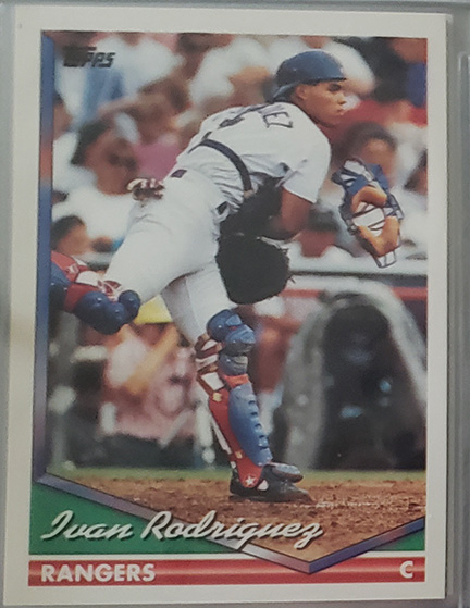 Player Collection Spotlight – Ivan Rodriguez