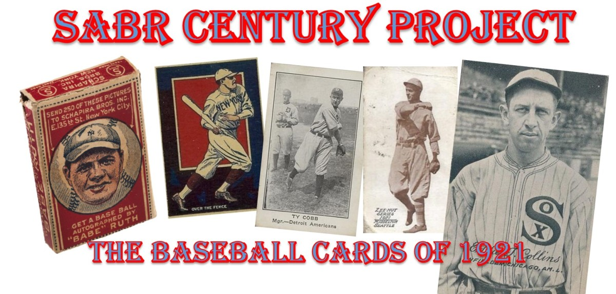 SABR Century Project – Baseball Cards of 1921